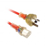 Australia 3pin male to IEC 320 C13 cable